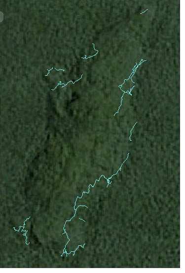 Bukit Agung on Google Earth